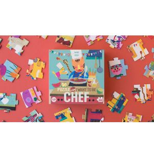 Puzzle I want to be Chef