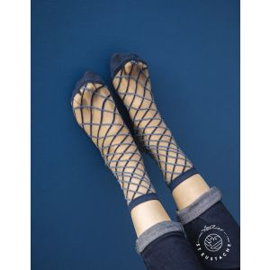 Brooklyn Bridge Blue 39-41 Chaussettes