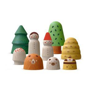 Wooden Toys - My wooden world forest