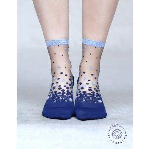 Nakameguro Bleu 39-41 Chaussettes