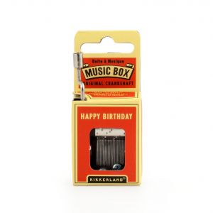 Boite à musique à manivelle - Happy Birthday