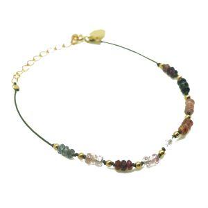 Bracelet nine spinelles