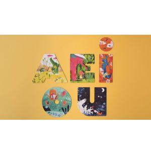AEIOU puzzle
