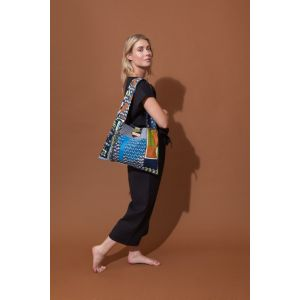 Patchwork Bag Amulette Kaki