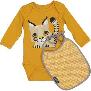 Kit body / bavoir Lynx 9-12 mois