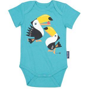 Body Manche courte mibo toucan 3-6 mois
