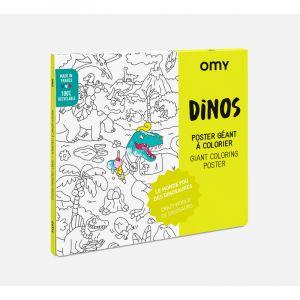 DINOS - Poster à colorier