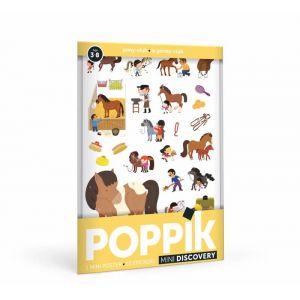 Mini poster poney