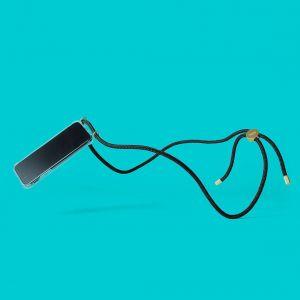 Porte iphone 11 bandouliere Noir