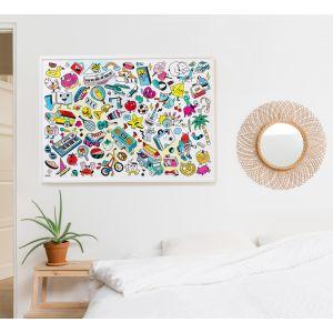 Baby Art - Poster à colorier