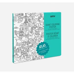 Atlas - Carnet de coloriage