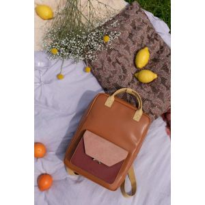 Sac a dos colore faded burgundy