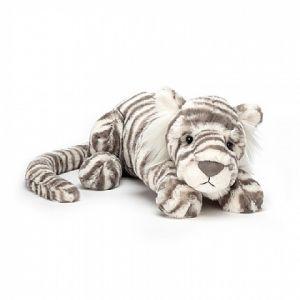 Sacha Snow Tiger Little - peluche tigre