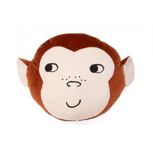ANIMALS VELVET CUSHION Monkey