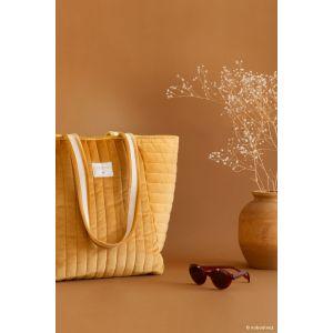 Savana velvet sac a langer jaune