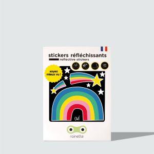 Stickers Retroreflechissant Arc en ciel
