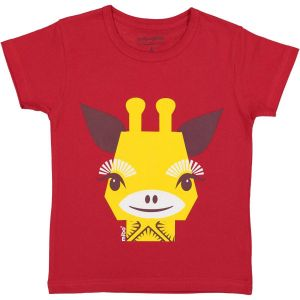 Tshirt manches courtes Girafe - 4 ans
