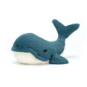 Wally Whale tiny - mini baleine