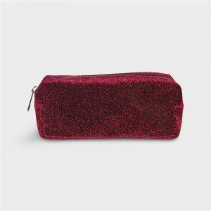 Trousse paillette rubis