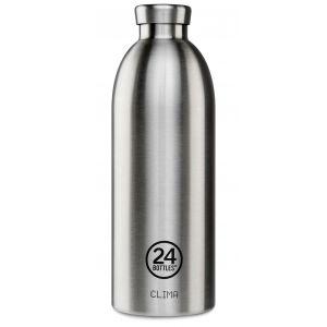 Clima Bottle 850ml Bouteille Steel Satin Finish
