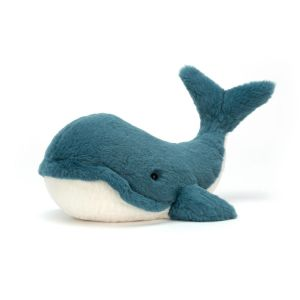 Wally Whale Small - peluche baleine