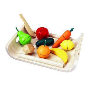 Plateau fruits et legumes assortis