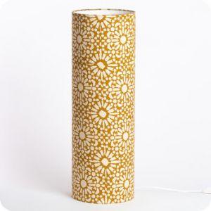 Lampe tube à poser Sun Yellow (M)