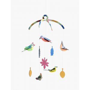 Décoration murale Mobile oiseaux