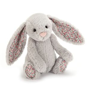 Blossom Silver Bunny Medium - peluche lapin