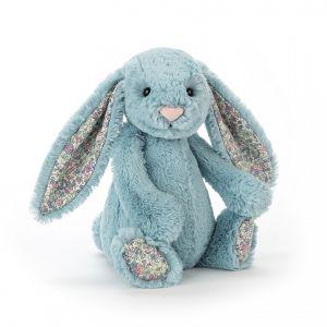 Blossom Aqua Bunny Medium - peluche lapin