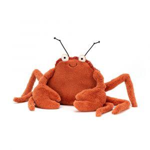 Crispin Crab medium - peluche crabe