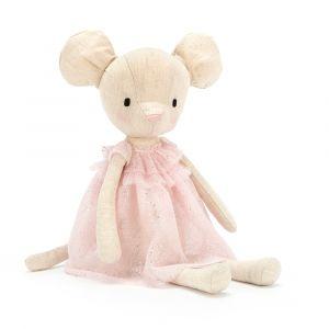 Jolie Mouse - peluche souris danseuse