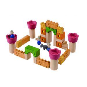 Château fort en bois - jeu d'éveil