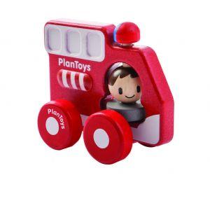 Camion pompier en bois